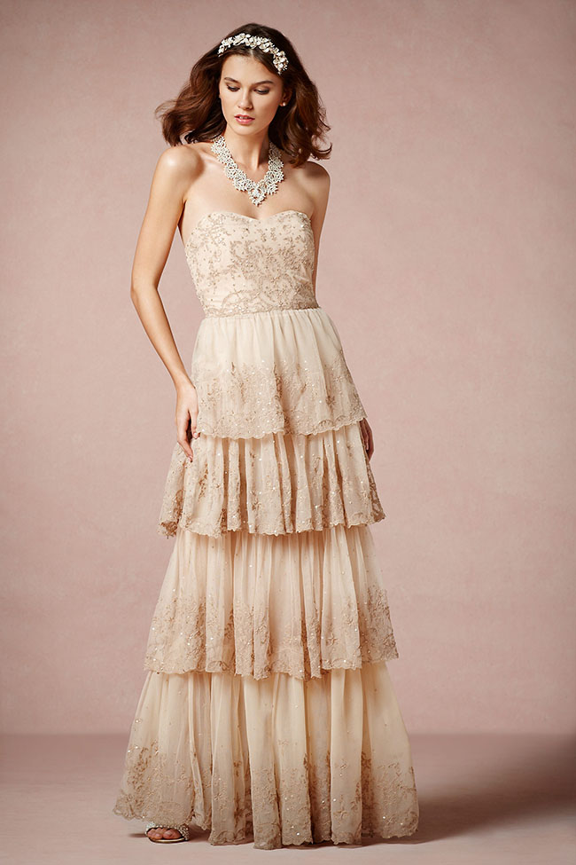 Attractive Bhldn Isis Gown Photos - Wedding Dresses From the Bridal ...