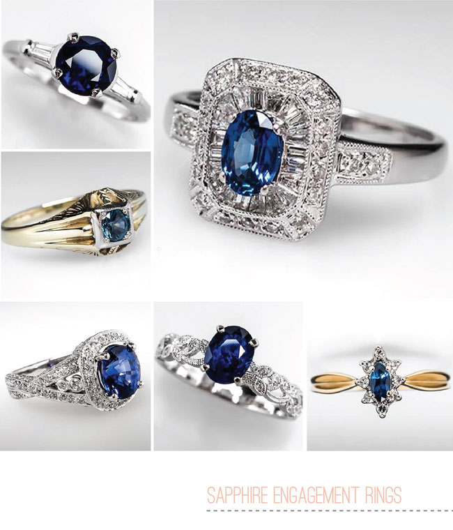 Colored Gemstone Engagement Rings From Eragem