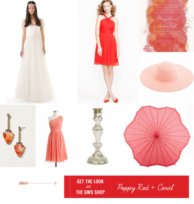 Coral Wedding Shoes 18 Ideal Get the Look Poppy