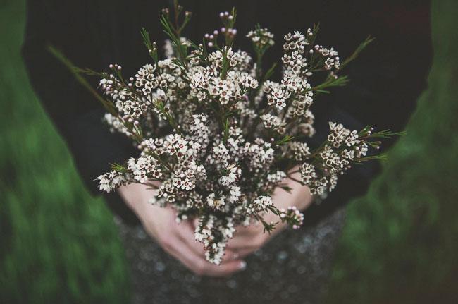 vintage rustic wild bouquet