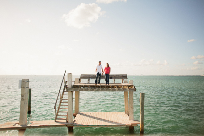 engagement photos in Stiltsville