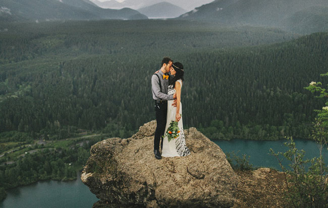 A romantic elopement in the woods laura nick for Best destinations to elope