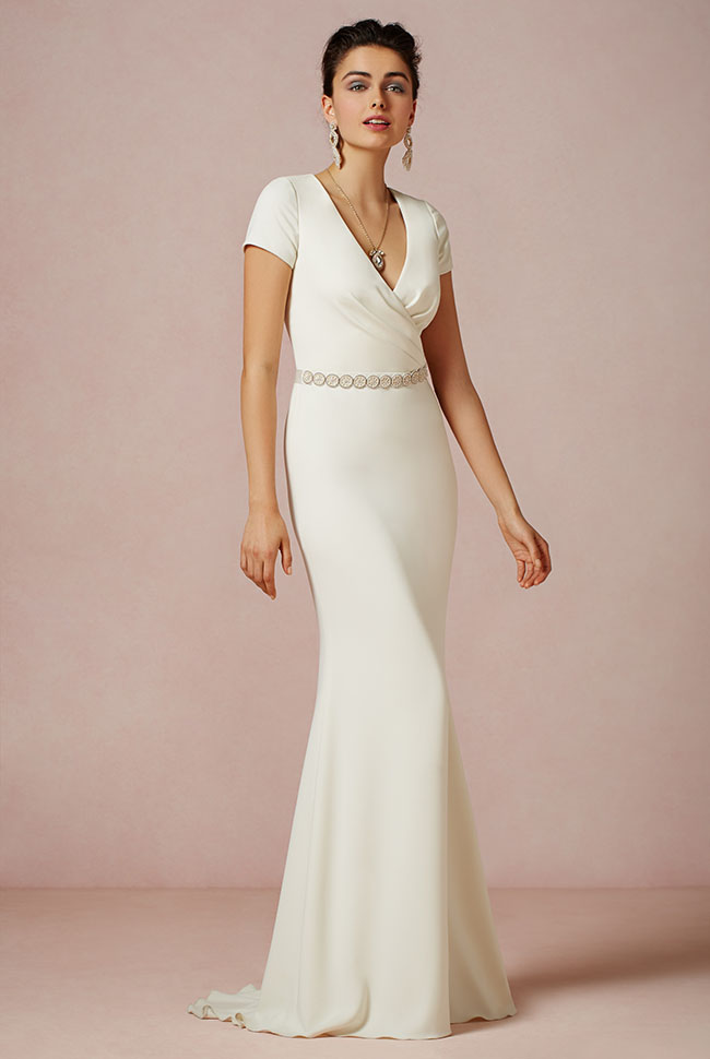 Simple Cotton Wedding Dress 63 Awesome BHLDN Fall Collection