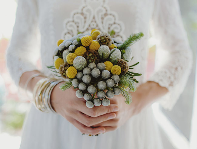 bouquet with billy balls