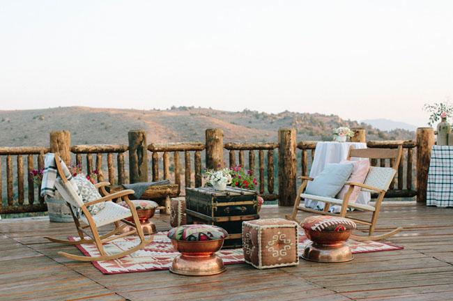 Brush Creek Ranch Wedding Inspiration Green Wedding