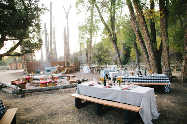 brush creek campfire reception