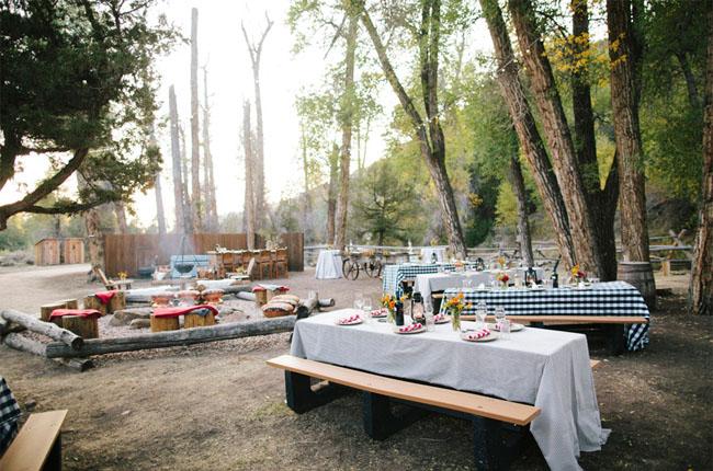 brush creek campfire reception