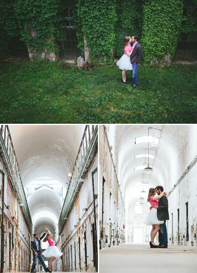 eastern state pen engagement photos