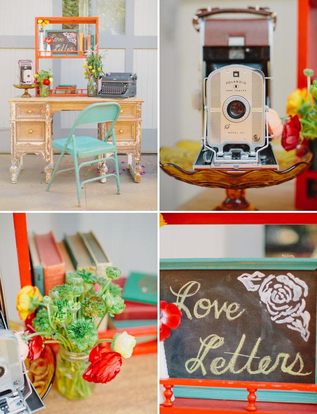 love letter writing desk
