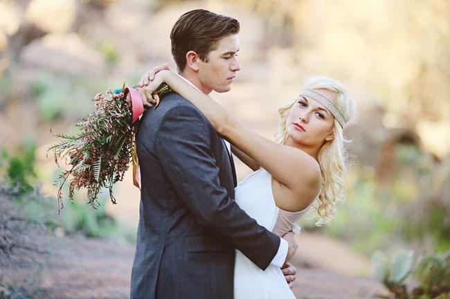 Mid-Century Desert Wedding Inspiration
