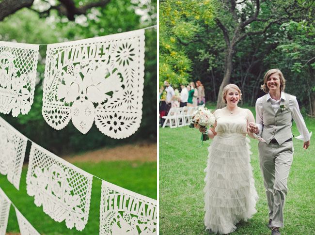 papel picado ceremony