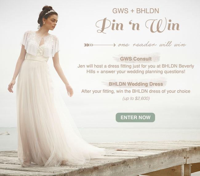 Win Wedding Dress 14 Fresh pin it contest