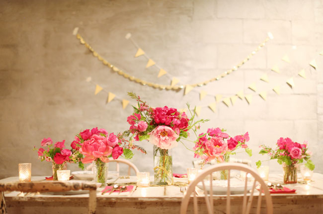 Gold pink wedding inspiration pink and gold inspiration junglespirit Images