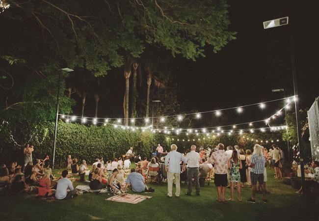 Backyard Picnic backyard picnic wedding: arlene + jake