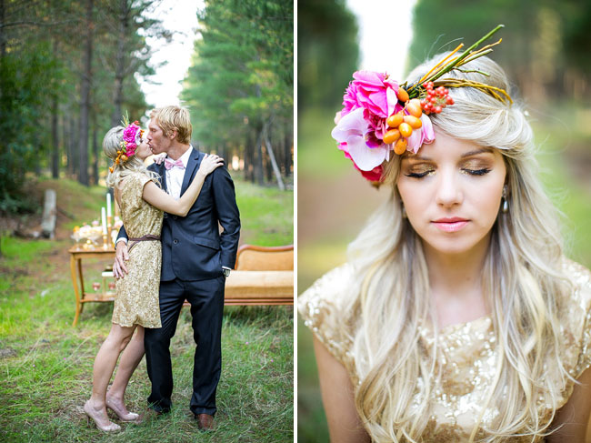 Opulent + Playful Gold Wedding Inspiration
