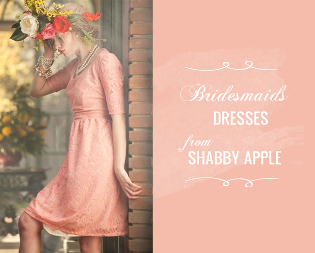 Bridesmaids dresses from Shabby Apple