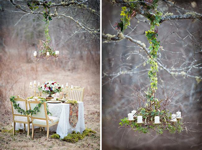 snow white wedding inspiration