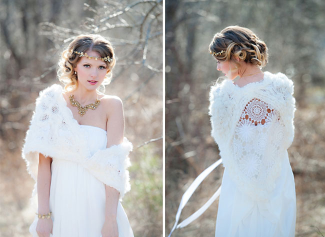 snow white wedding inspiration