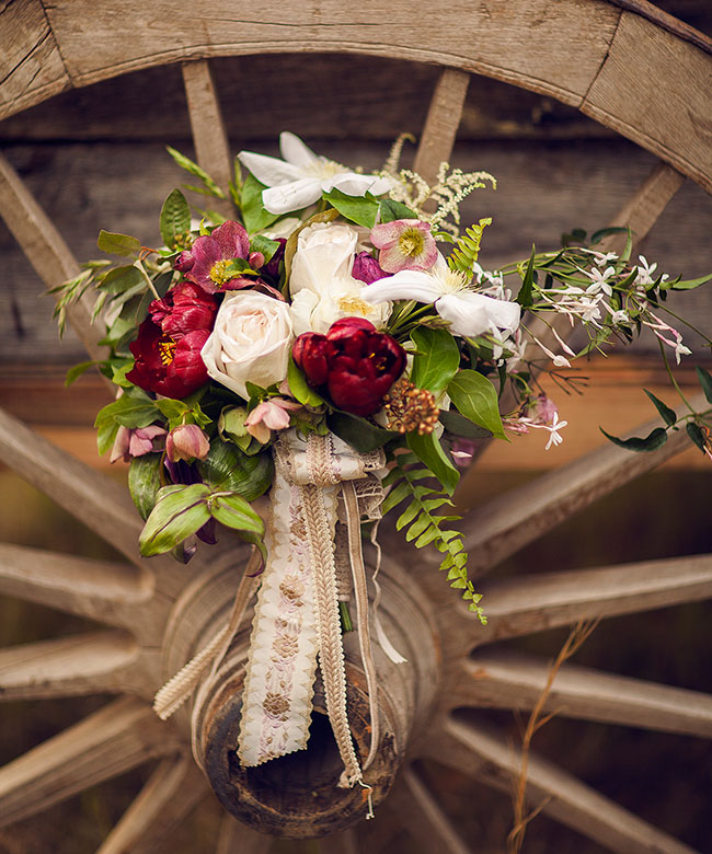 1800's inspired bouquet