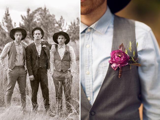 1800's groomsmen