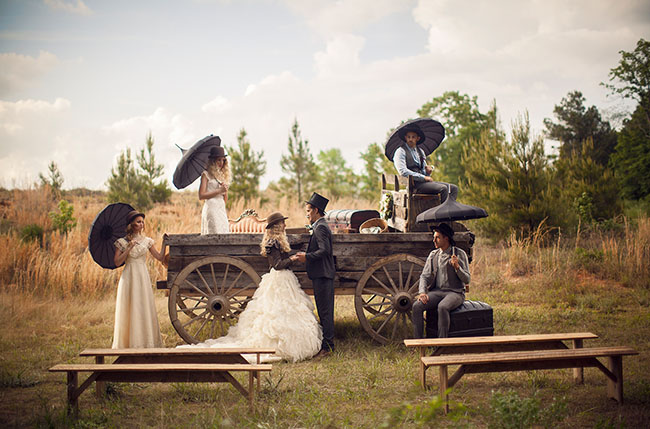 1800s wedding