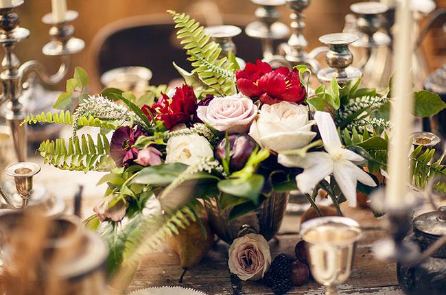 1800s inspired flowers