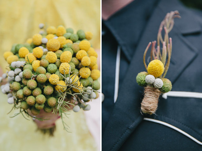 billy ball bouquet
