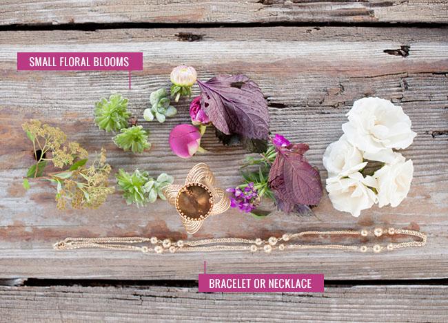 DIY Flower Bracelet Supplies