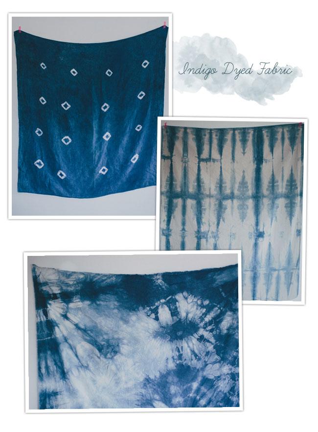 DIY_Indigo_Dyed_Fabric_samples