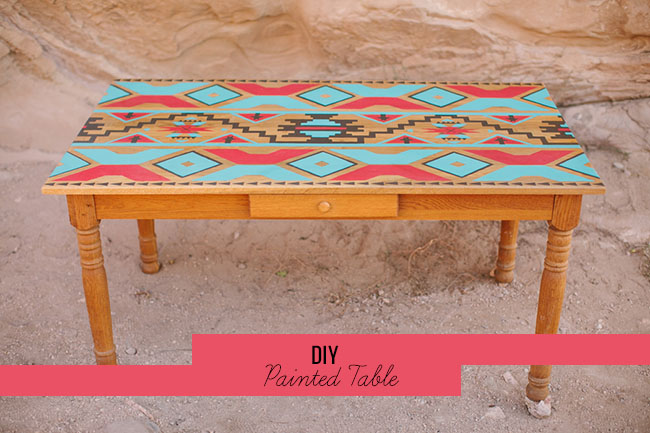 DIY_painted_table