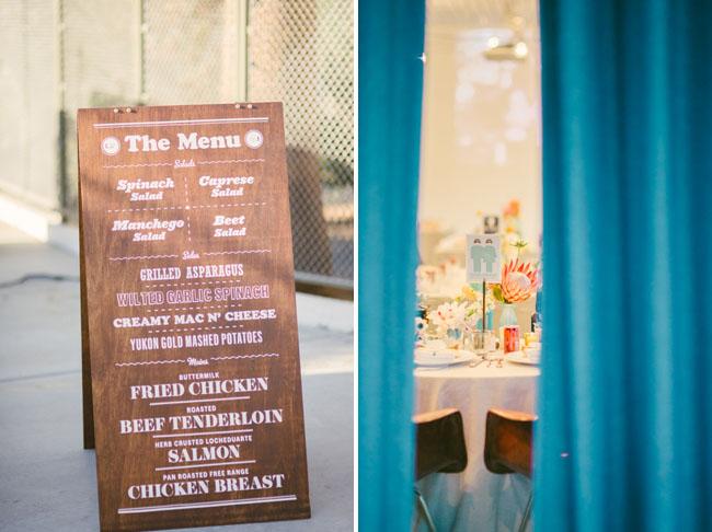 wood dinner menu