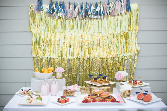 breakfast dessert bar