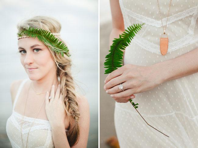 fern hair piece