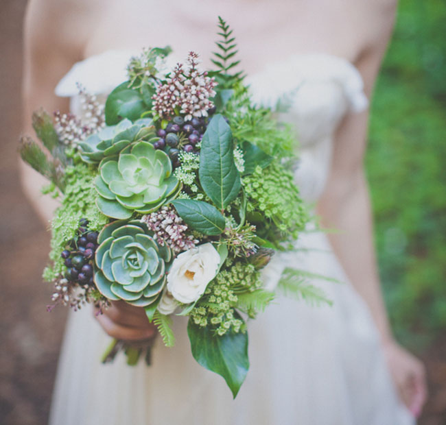 big sur succulent bouquet