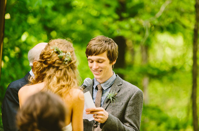 boy scout camp wedding