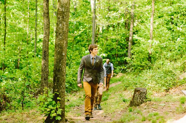 boy scout camp wedding