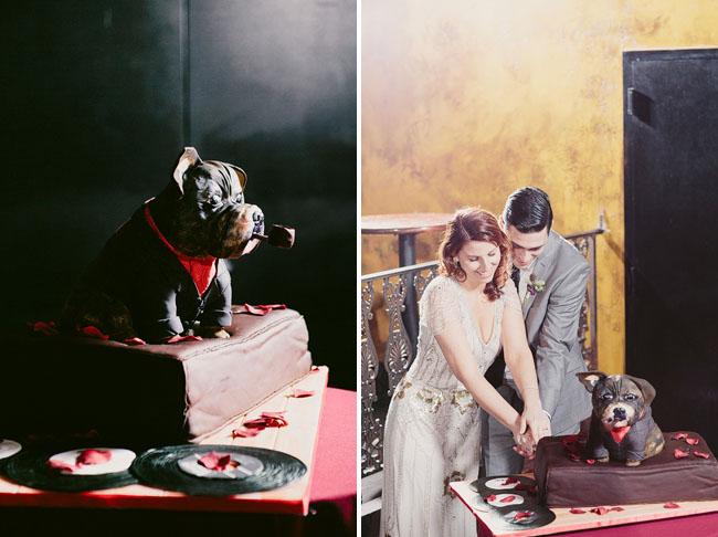 doggie grooms cake