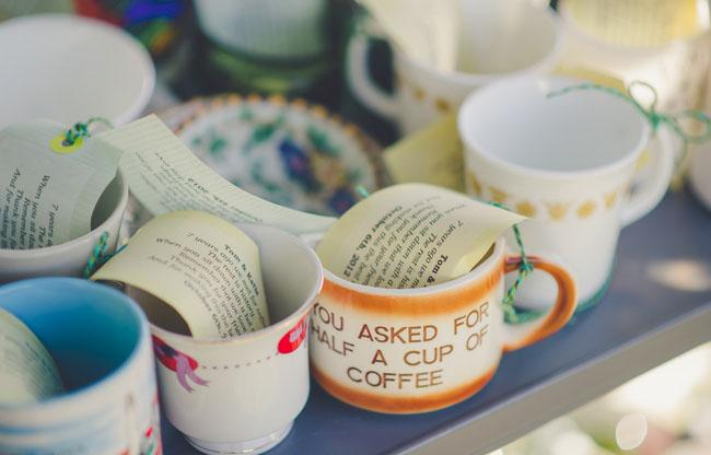 mug favors