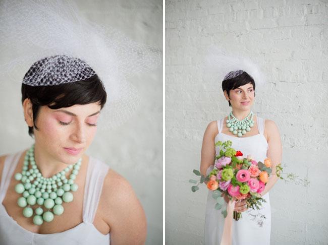 geometric bride