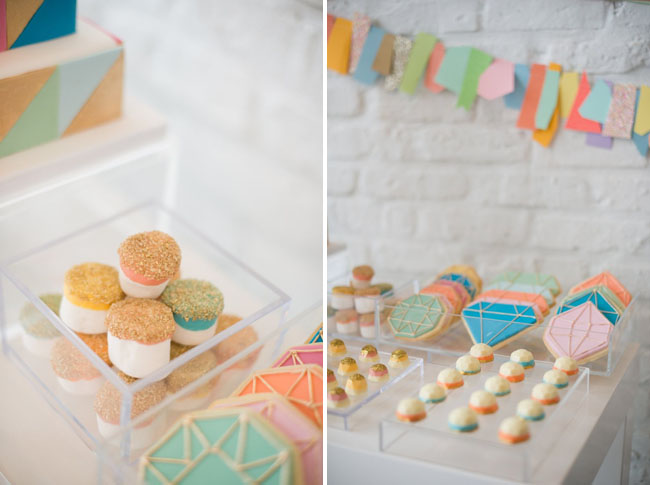 geometric desserts