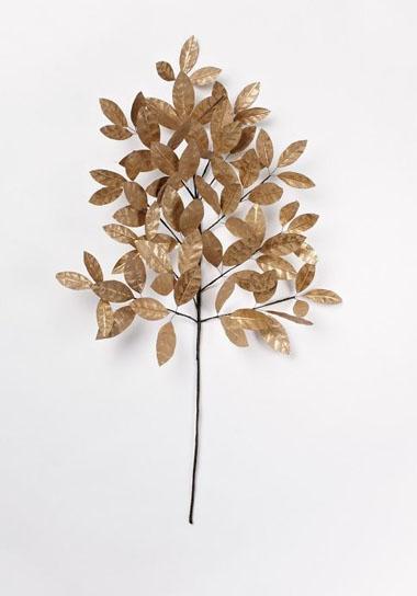 Paper flowers metallic leaves green wedding shoes mightylinksfo
