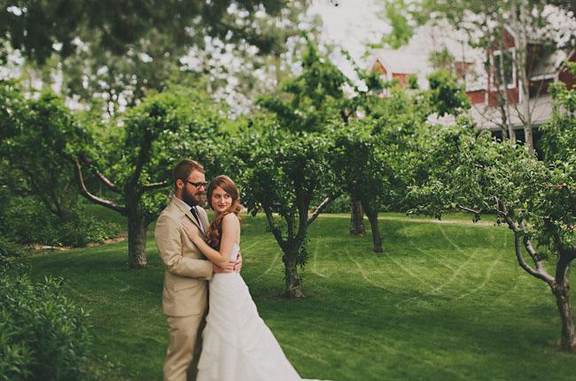 idaho bride and groom