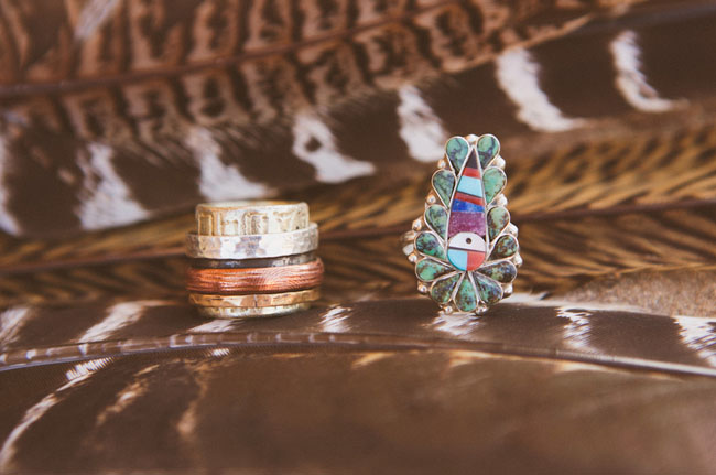 native style rings
