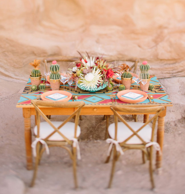 into the wild tablescape