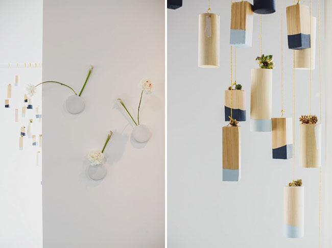 hanging wood blocks