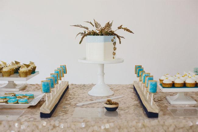 modern dessert bar