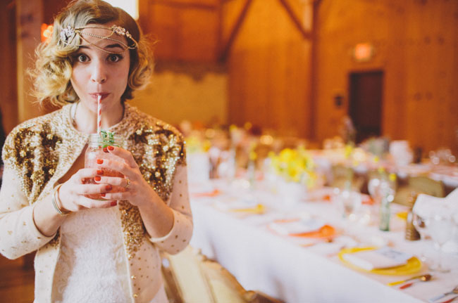 bride and drink