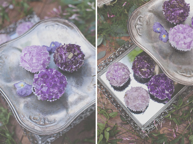 rock inspired cupcakes