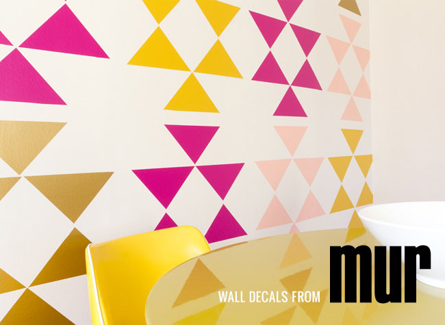 Popular Wall Decals from Mur and a Giveaway