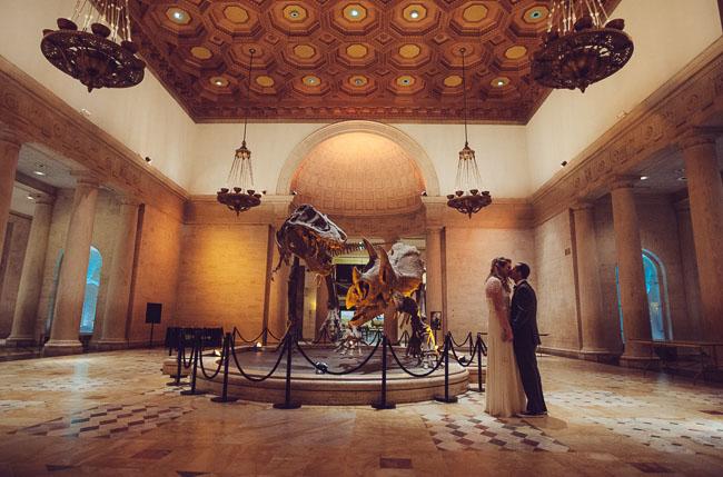 Natural History Museum Wedding: Jen + Eric